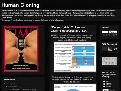 humancloning