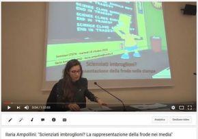 """""""Scienziati imbroglioni? La rappresentazione della frode nei media"""", di IlariaAmpollini"""