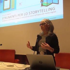 Cristina Rigutto: Collaborare, comunicare e produrre contenuti di ricerca: lostorytelling.