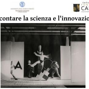 Nuovo ciclo di seminari: Raccontare la scienza e l'innovazione